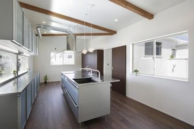 キッチン (ロの字の家)