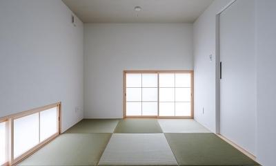 和室 コの字の家