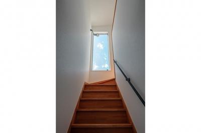 階段 (コの字の家)
