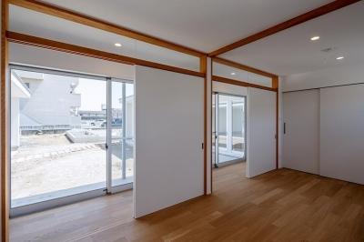 子供室 (コの字の家)