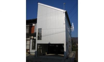 新潟の家 (外観)