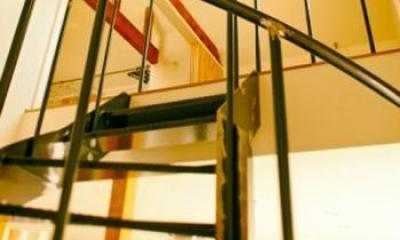手稲の三角 (08階段)