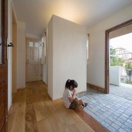 住宅作品1 (玄関(撮影:石井紀久))