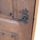 玄関のドアノブ(撮影:石井紀久)