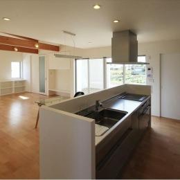 対面式キッチン (K4-House)