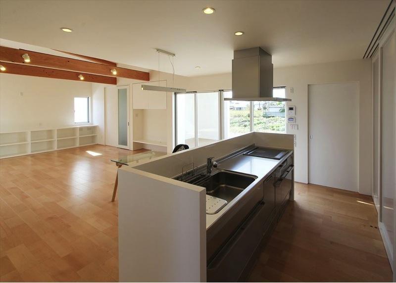 K4-Houseの部屋 対面式キッチン