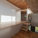 2階LDK(撮影:Masahide Iida)