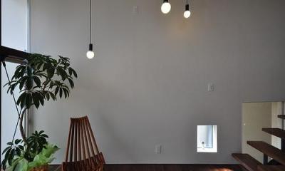 floating living-room house (子世帯リビング1)
