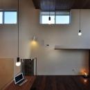 花田 順+花田 直子の住宅事例「floating living-room house」