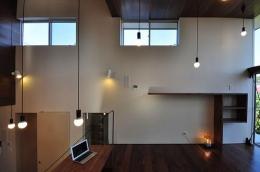 floating living-room house (子世帯リビング2)