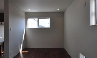 floating living-room house (ベッドルーム1)