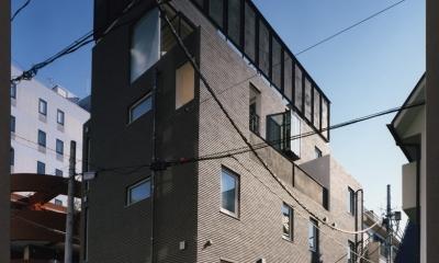 渋谷3丁目の住宅 (外観)
