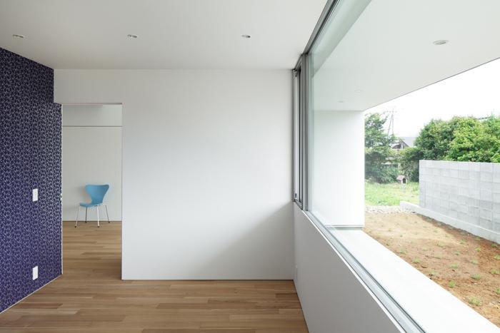 ループ&ループ_戸建住宅の部屋 ベッドルーム(撮影:Makoto Yasuda)