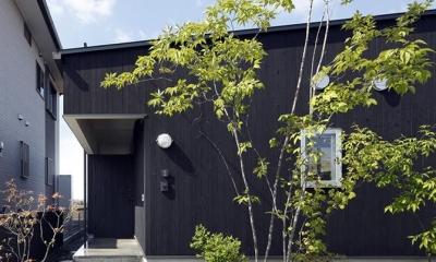 玄関-外観|草津のコートハウス
