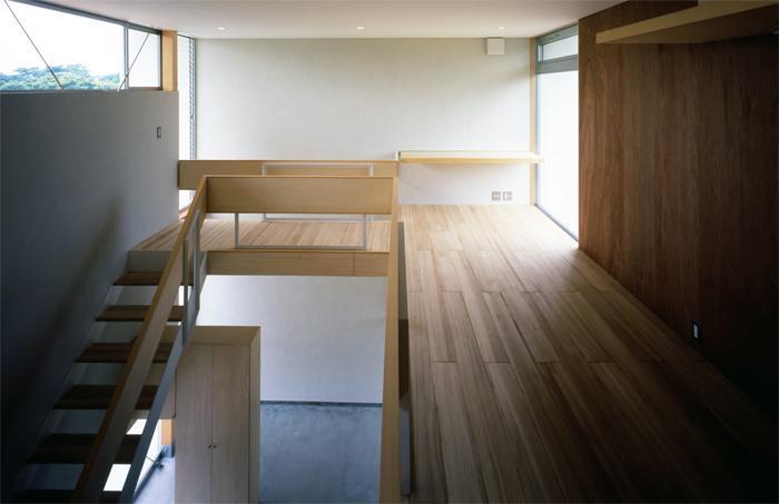 おおつ野の家の部屋 階段・ワークスペース(撮影:齋藤さだむ)