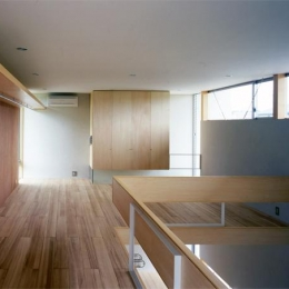 おおつ野の家-2階ベッドルーム(撮影:齋藤さだむ)