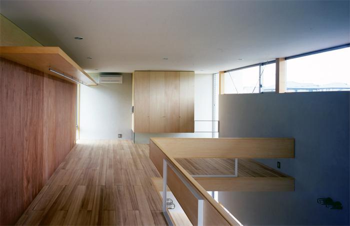 おおつ野の家の部屋 2階ベッドルーム(撮影:齋藤さだむ)