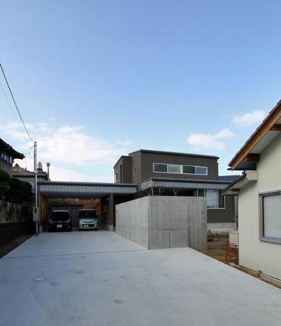 外観 (宇ノ気町の家)