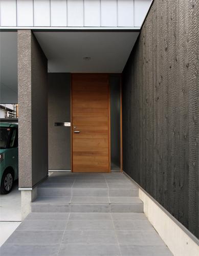 宇ノ気町の家の部屋 玄関−外観