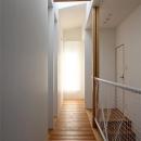 宇ノ気町の家の写真 2階廊下