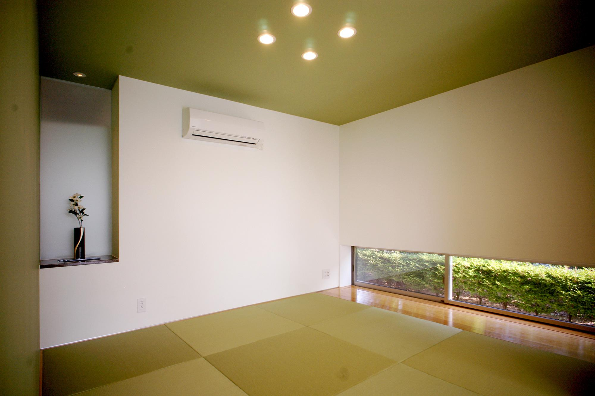 T-House <ガラスルーバーの家>の部屋 畳スペース