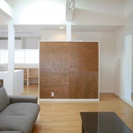 N's residence (リビング)