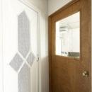 洗面室のドア・リビングのドア