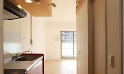 箕面のマンション (ワンルーム-キッチン)
