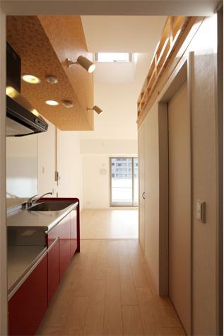 箕面のマンションの部屋 ワンルーム-キッチン