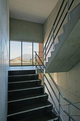 大竜ハイツの部屋 寮舎-階段