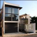 二世帯住宅-外観