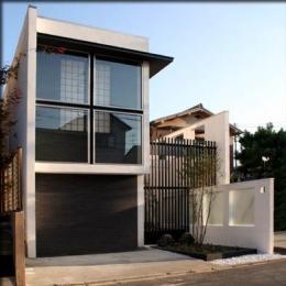 大徳寺の家 (二世帯住宅-外観)
