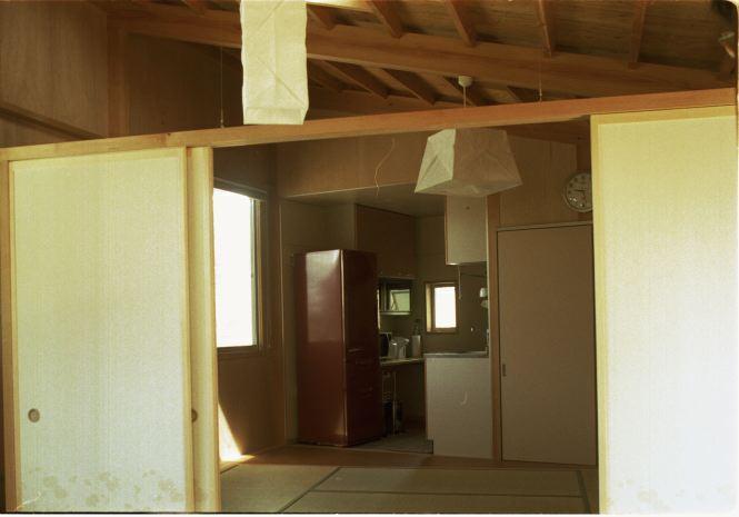 山方(母の住宅)の部屋 台所・居間