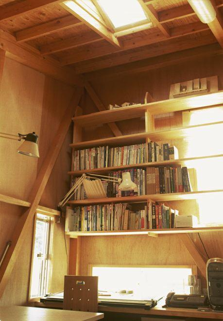 山方(母の住宅)の部屋 書斎