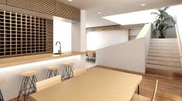 Terrace House project (ダイニングルーム)