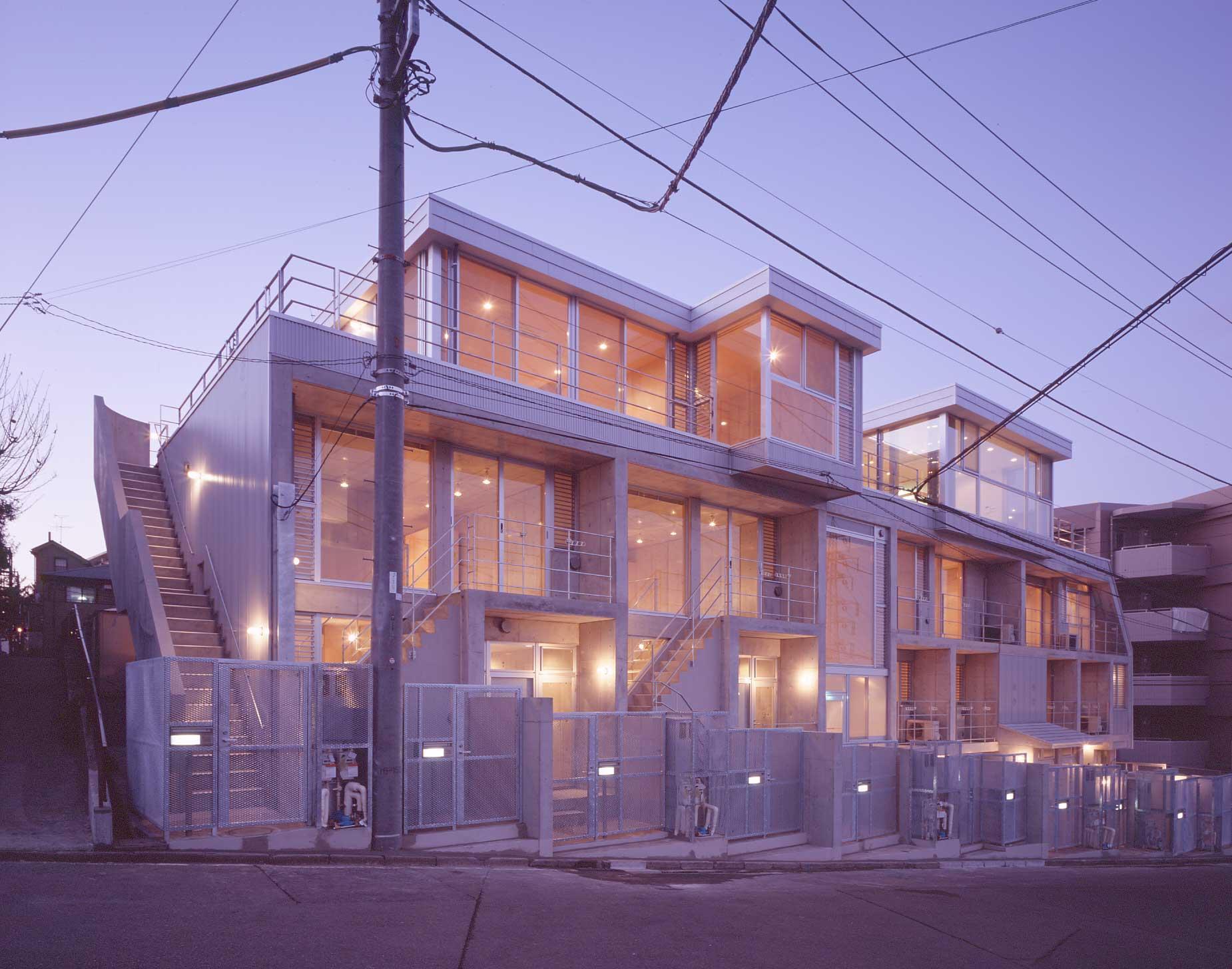 cabinaの部屋 マンション外観(撮影:Satoshi Asakawa)