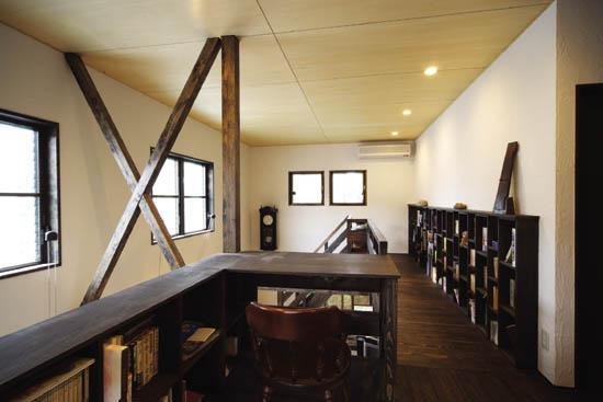 O邸(リフォーム物件)の部屋 2階趣味の空間