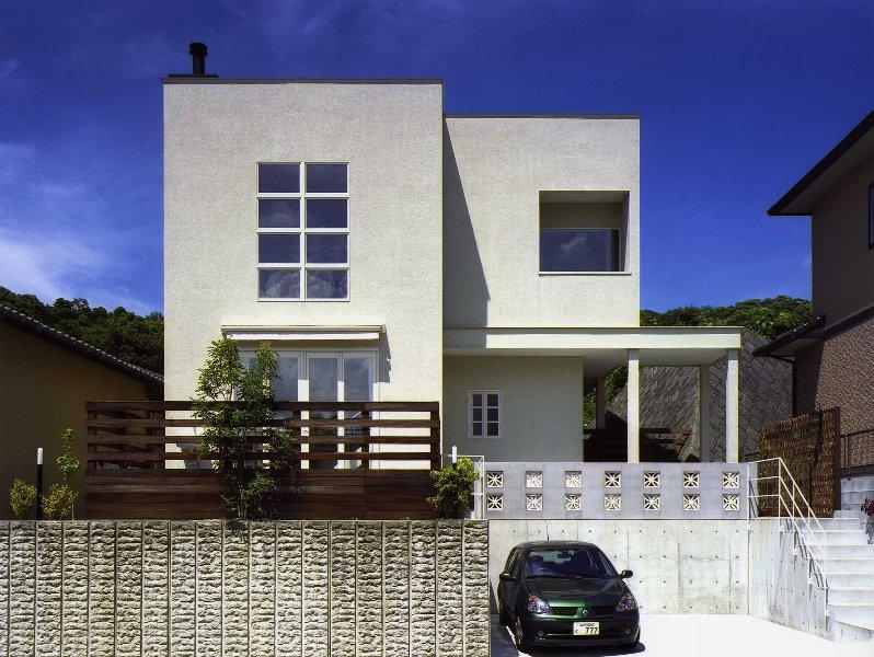 住宅作品2の部屋 シンプルな外観