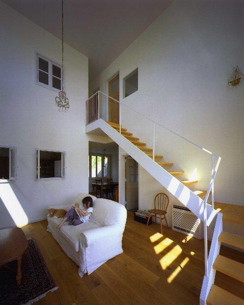 住宅作品2の部屋 リビング内の階段