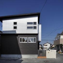 池田の耐震リフォーム (外観-側面(撮影:平井美行))