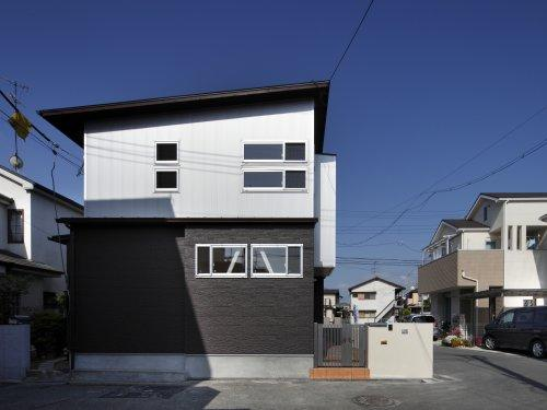 池田の耐震リフォームの写真 外観-側面(撮影:平井美行)