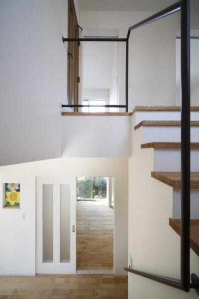 階段(撮影:平井美行) (池田の耐震リフォーム)