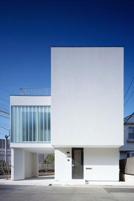 川崎市Ma邸(space fabricでの担当物件)の部屋 白い外観