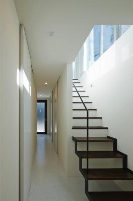 川崎市Ma邸(space fabricでの担当物件)の部屋 階段