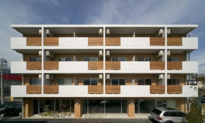 H3-Housing (マンション外観)