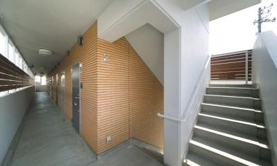 マンション階段|H3-Housing