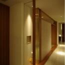 リビング内の和室-入口