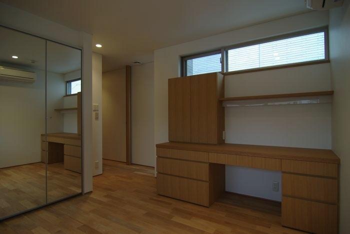 橦木の家の写真 ベッドルーム