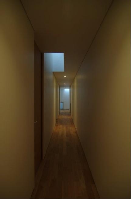 橦木の家の写真 廊下