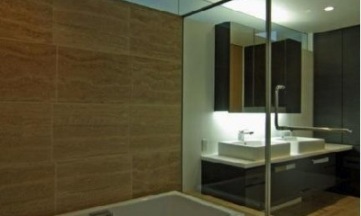 橦木の家 (浴室)